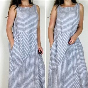 J. Jill | Love Linen Striped Dress | MP